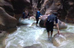 wadi mujib hike