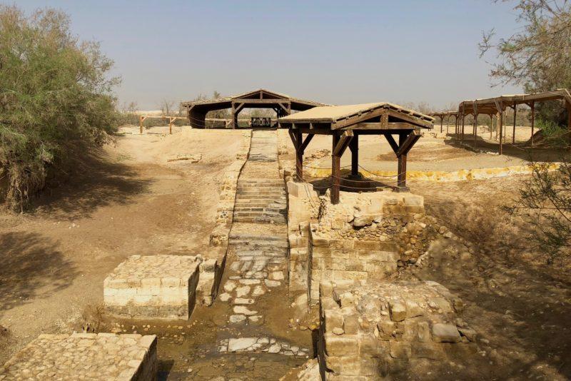 1ce1665e779687 Visiting Jesus  Baptism site in Jordan